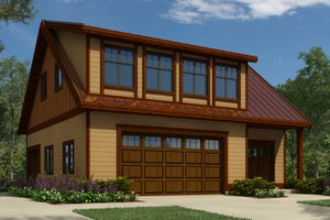 Garage Plans With Apartment Carriage Plan