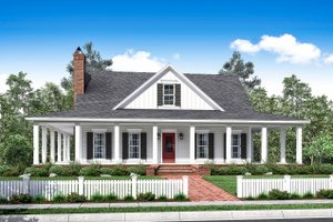 Home and House Plans with Wraparound Porches at eplans com Plan