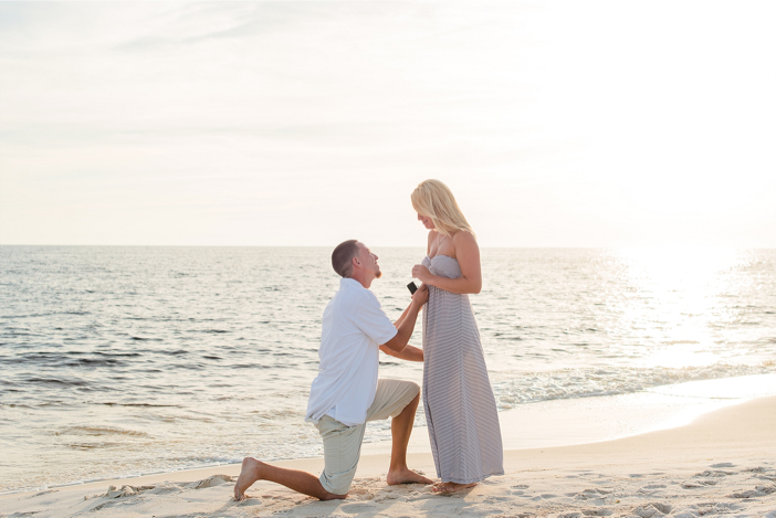 Beautiful Proposal With The Whole Family