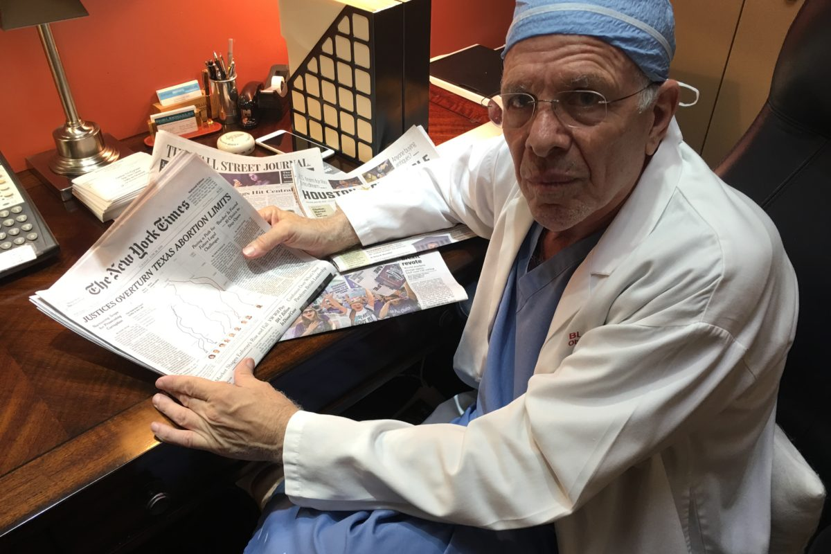 Houston Ob Gyn Explains How Court Ruling Allows His Clinic To Stay Open Houston