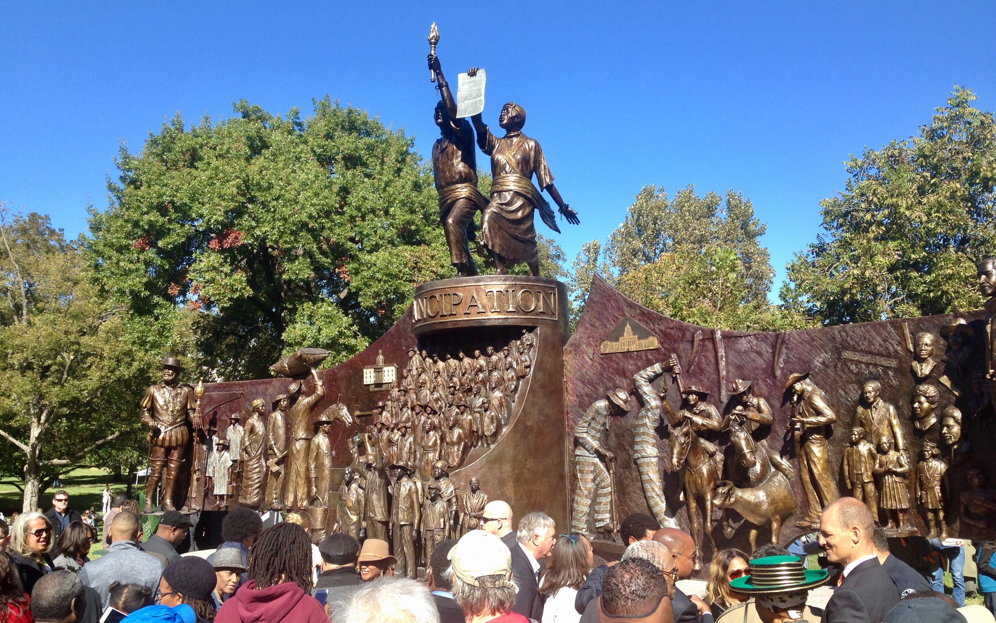 African American History Memorial Unveiled On Texas