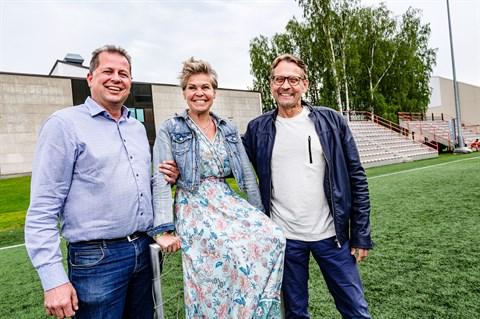 Kenneth Mörk, Nina Brännkärr-Friberg, och Björn Anderssén.