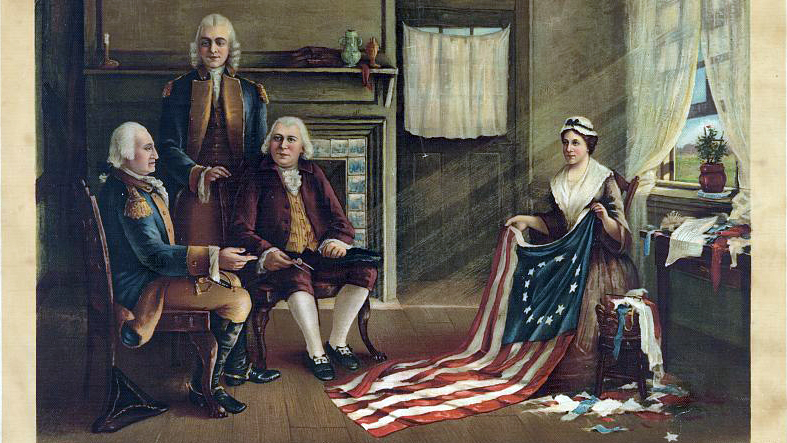 The Legend Of Betsy Ross And The American Flag How Betsy