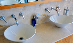 are wall mount bathroom faucets right
