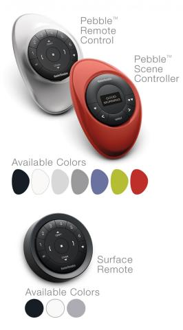 Pebble Remote Control, Scene Controller and Surface Remote