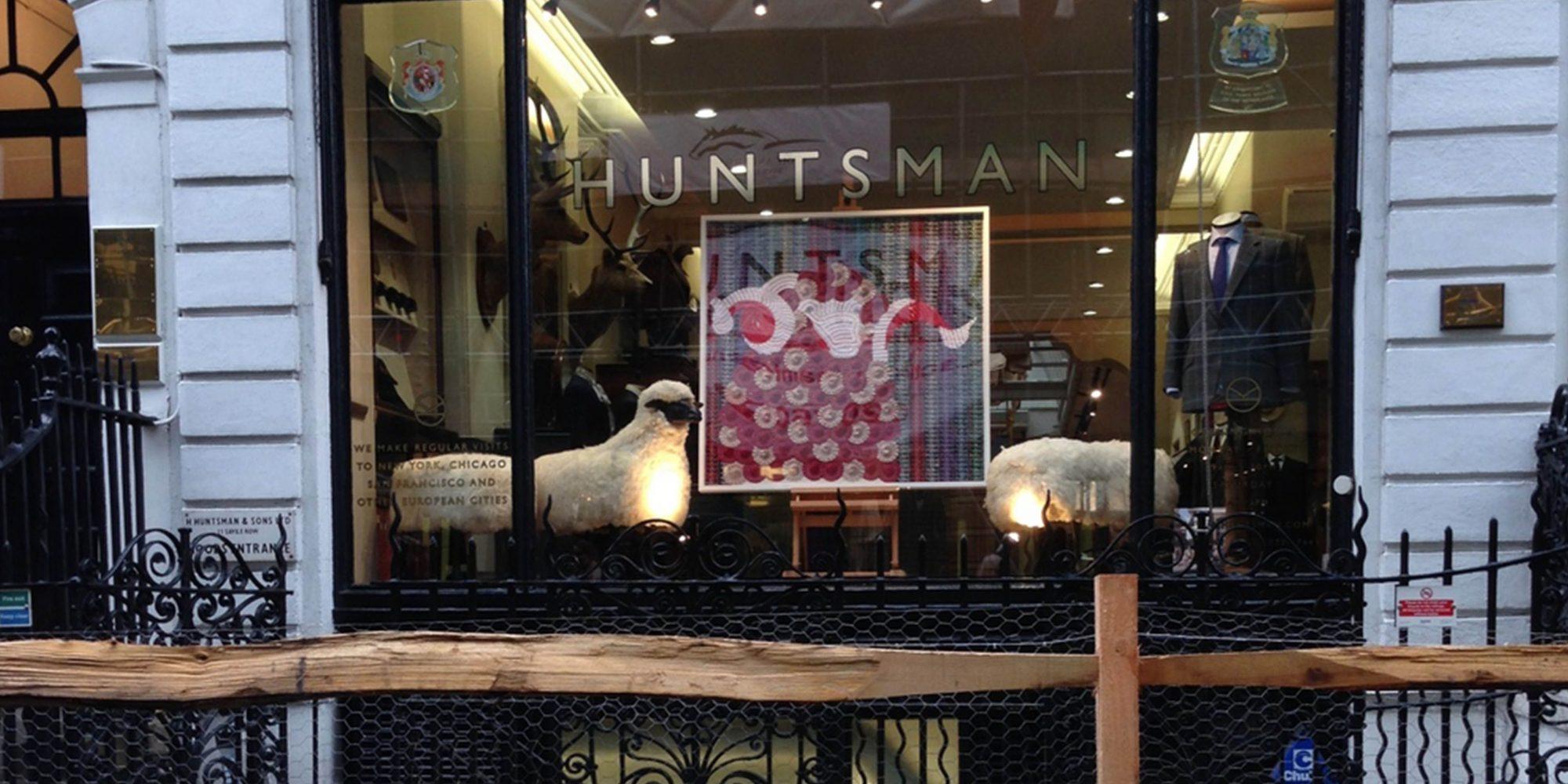 Sheep on Savile Row - Huntsman
