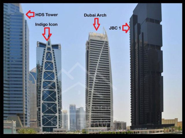 2 Bedroom Apartment To In Jlt Jumeirah Lake Towers