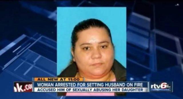 40χρονη γυναίκα έκαψε τον άντρα της όταν έμαθε ότι βίαζε την 7χρονη κόρη τους