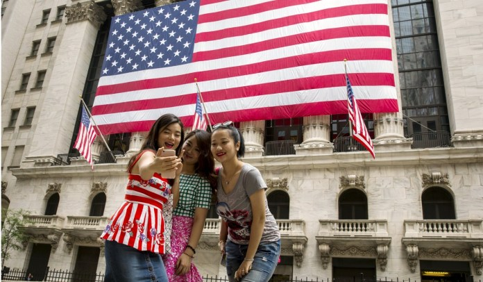 """Beijing said the travel alert was issued because US law enforcement had """"troubled"""" Chinese visitors. Photo: Reuters"""