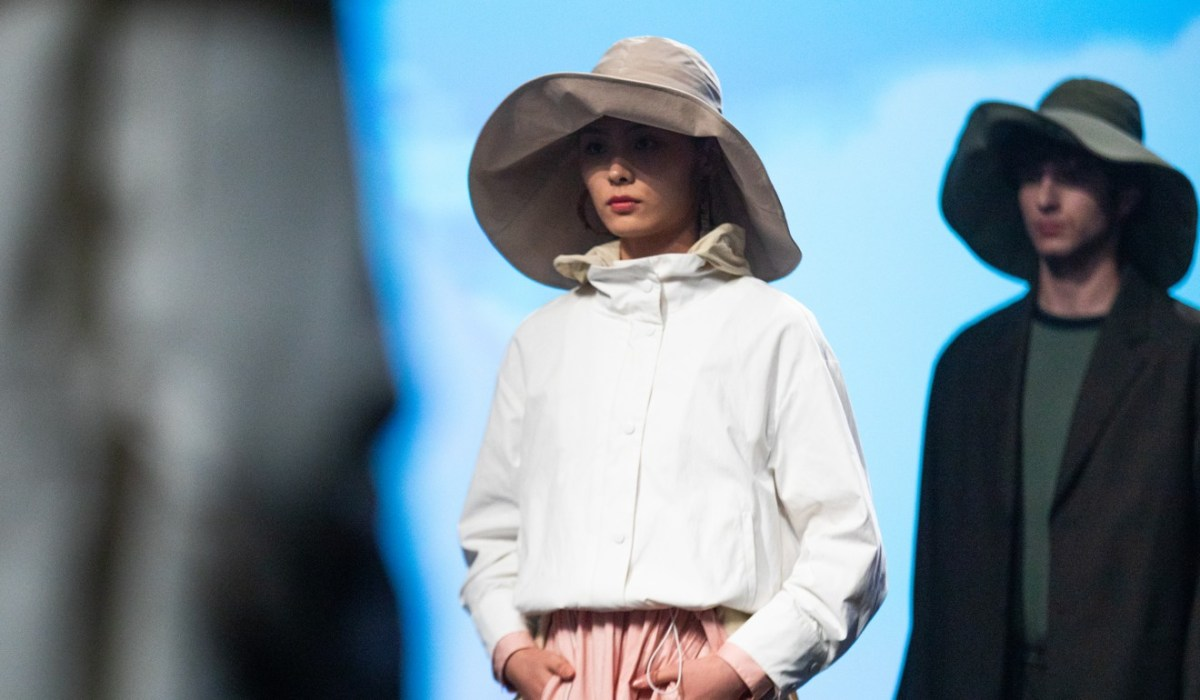 A look from the recent Me & City show at Shanghai Fashion Week.