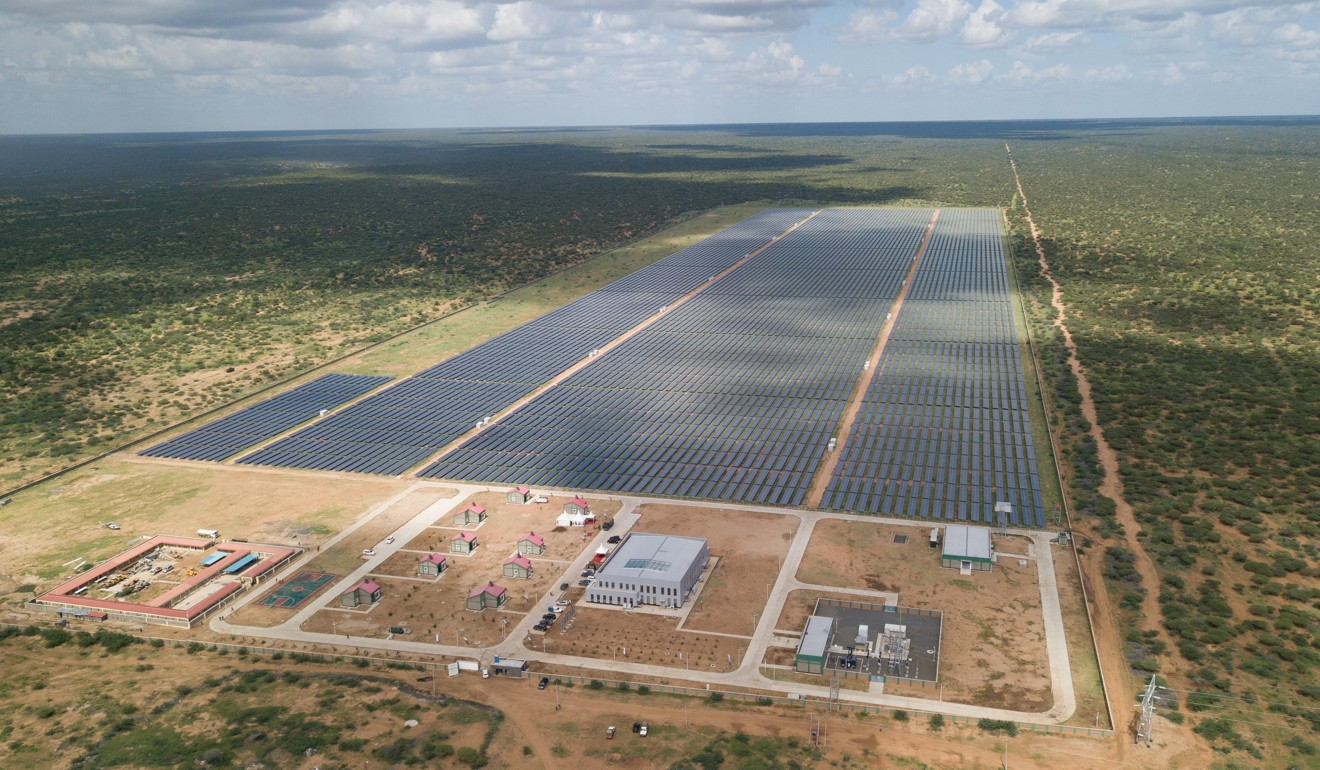 China has invested billions into Africa. One of the latest mass investments was the 50 MW solar power farm in Garissa, Kenya. Photo: Xinhua
