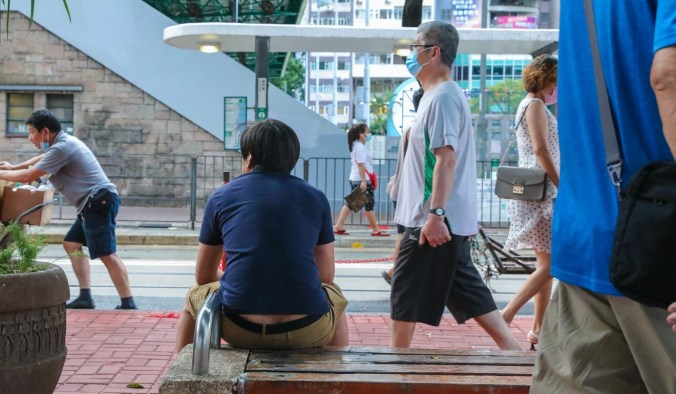 Covid-19 has taken a toll on Hongkongers' psychological well-being. Photo: K. Y. Cheng