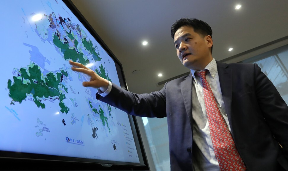 Stephen Wong, deputy executive director and head of the Public Policy Institute for Our Hong Kong Foundation, believes central bank digital currency will encourage freer capital flows within the Greater Bay Area. Photo: SCMP/Jonathan Wong