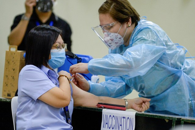 Next in line for gov't vaccination plan may take their jab by mid-May to June