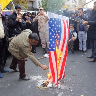Iran marks 40 years since US embassy takeover with flag-burning rally | South China Morning Post