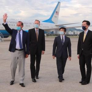 US Health Secretary Alex Azar starts Taiwan visit and says he will ...