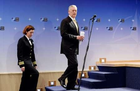 US Defense Secretary James Mattis speaking at a NATO meeting stuck to convention saying Washington was not ready