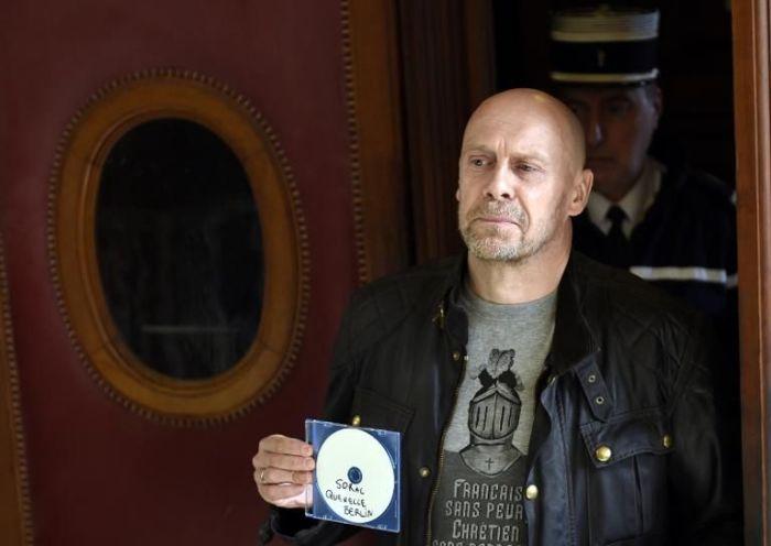 L'essayiste d'extrême droite Alain Soral, le 12 mars 2015 à Paris .