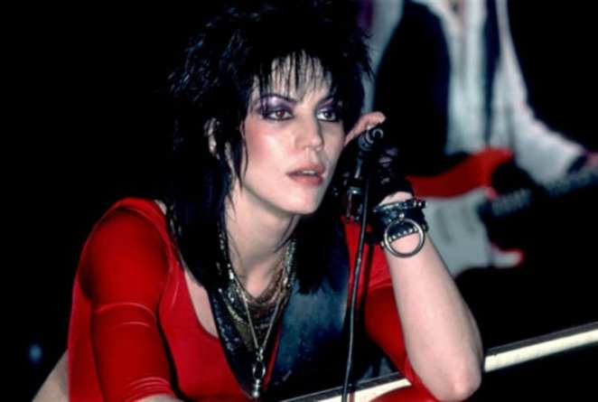 Joan Jett Performing Bad Reputation