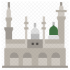 Al Masjid An Nabawi Icon Of Flat Style Available In Svg Png