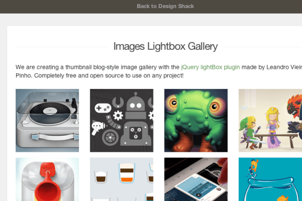 Create a Simple jQuery Image Lightbox Gallery - iDevie