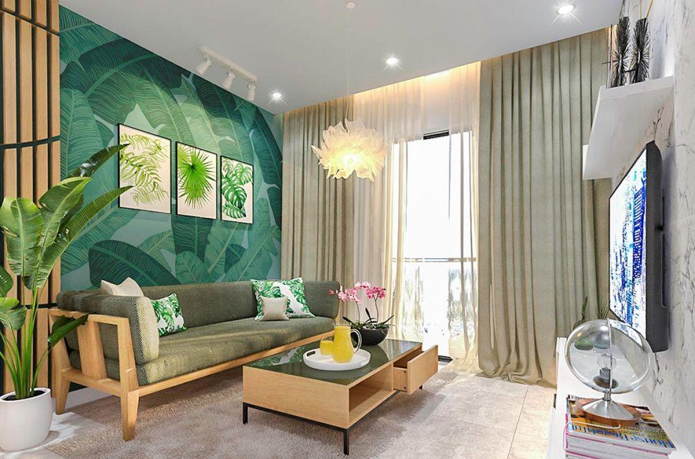 8 Desain Interior Bertema Tropis yang Berikan Suasana Liburan di Rumah