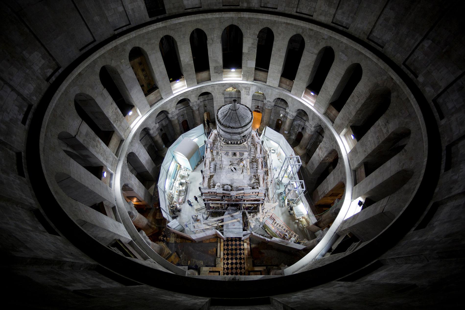 Meski Berpondasi Rapuh, Makam Yesus Tetap Dibuka untuk Umum