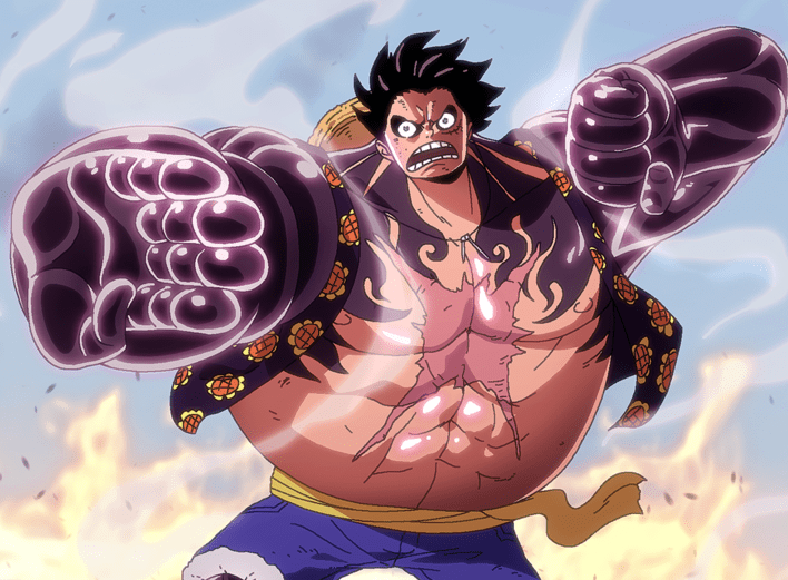 One piece luffy gear 2 episode is important information accompanied by photo and hd pictures sourced from all websites in the world. 9 Transformasi Luffy One Piece Dari Bayi Hingga Episode Terkini