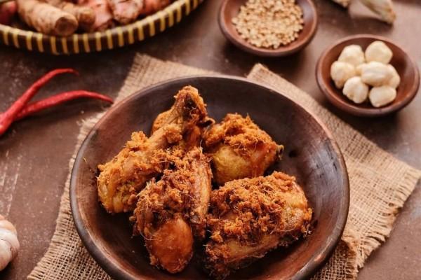Ayam Ungkep Laos