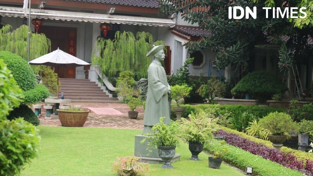 [FOTO] Peninggalan Sejarah, Potret Taman Tjong Yong Hian di Medan
