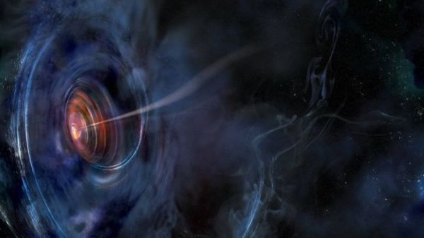 Earth-Sized Radio Telescope Spies A Star Falling Into ...