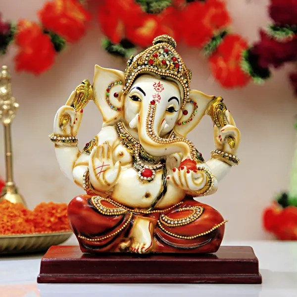 Graceful Lord Ganesha Idol GiftSend Home And Living Gifts OnlineCC1041591