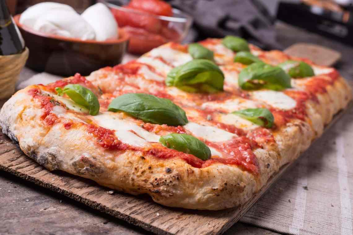 Resultado de imagen de pizza 'in Teglia'