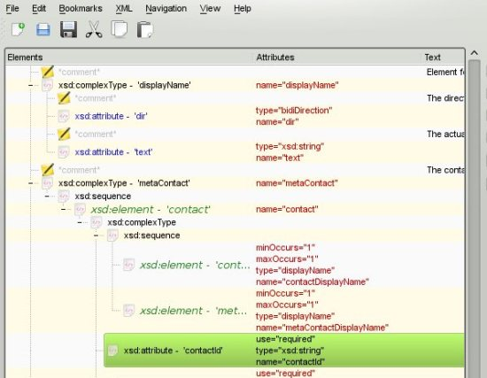 Best Free XML Editor: QXMLEdit