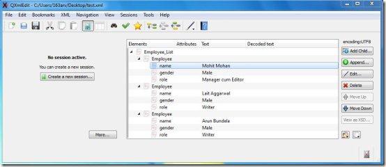 4 Free XML Editor To Edit XML Files