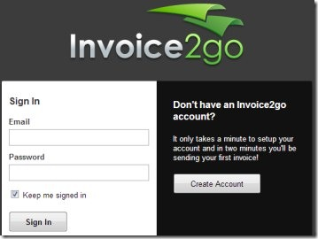 Create Invoices  Estimates Online On Your Google Chrome  Invoice2go Invoice2go 01 create invoices