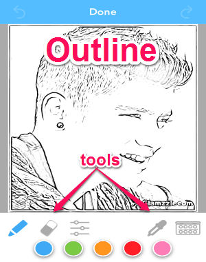Convert Photo To Coloring Page Software