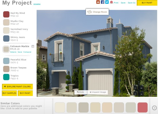 5 free online house paint simulator to paint house virtually on paint colors online id=34462