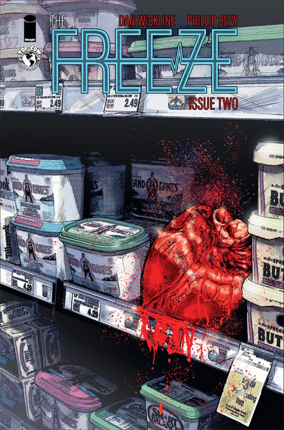 The Freeze, Post Apocalypse, Top Cow, End of the world, Issue 2