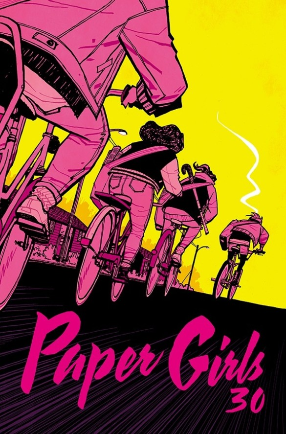 Image result for paper girls #30