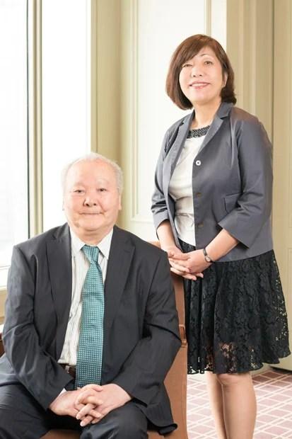 加藤一二三(左)と林真理子(右)(撮影/写真部・岸本絢)