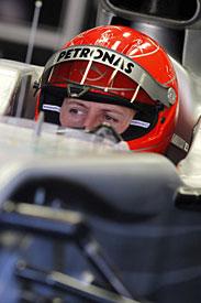 Michael Schumacher, 2010