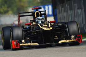 Kimi Raikkonen Lotus 2012
