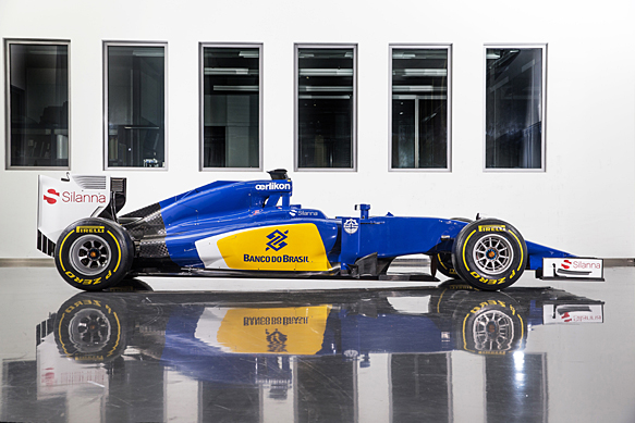 Sauber 2015 F1 car