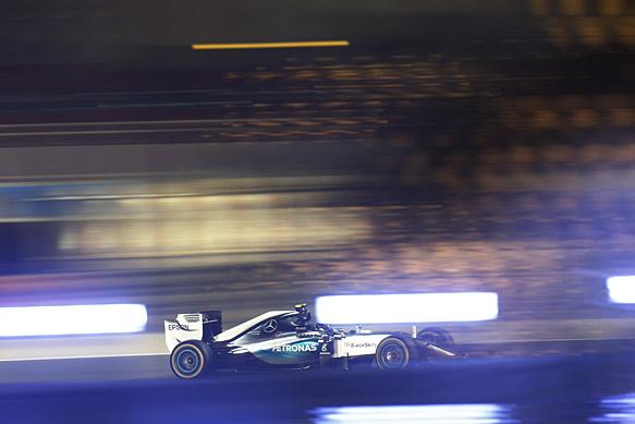 Nico Rosberg, Mercedes, Bahrain GP 2015