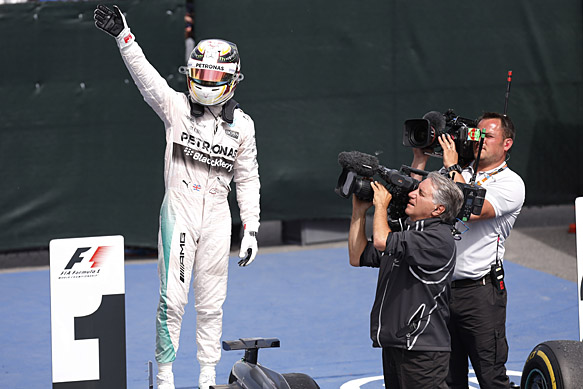 Lewis Hamilton wins 2015 Canadian GP