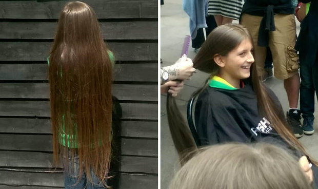 Boy Gets His First Haircut Aged 11 For Charity Daily Star