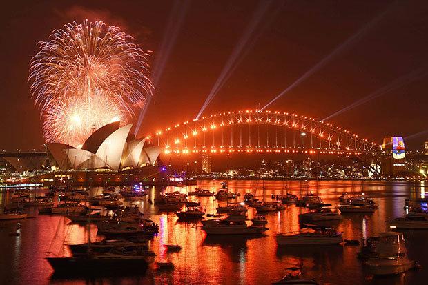 australia happy new year
