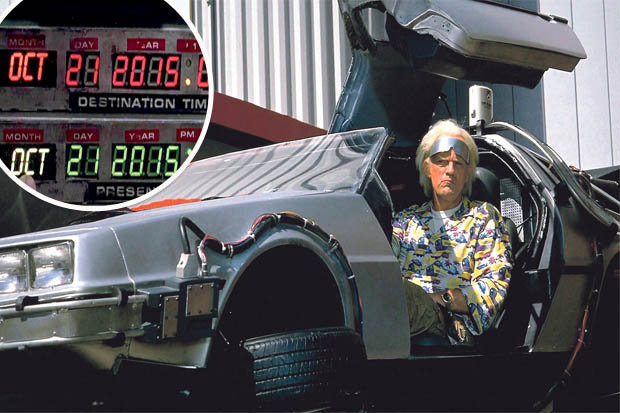 Today Is The Day Marty Mcfly And Doc Brown Time Travelled