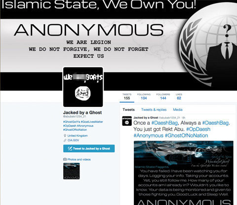 Anonymous declare cybe war on ISIS